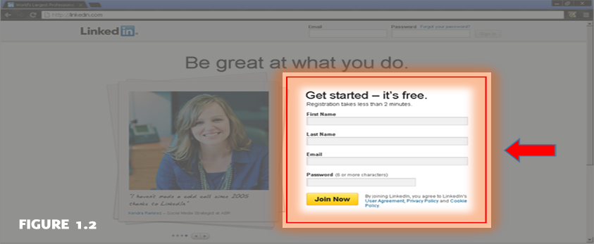 How to Set Up Your First LinkedIn figure 1.2